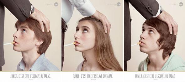 la campagne anti tabac fumer c 39 est etre esclave du tabac le blog des filles qui ont arret. Black Bedroom Furniture Sets. Home Design Ideas