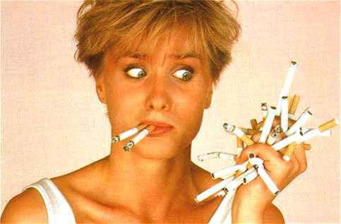 Si la femme cesse de fumer